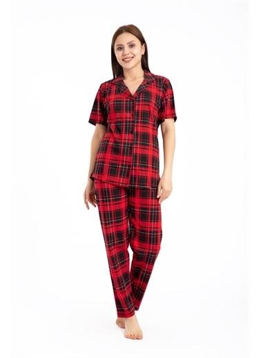 Pemilo Pijama Takım Bordo